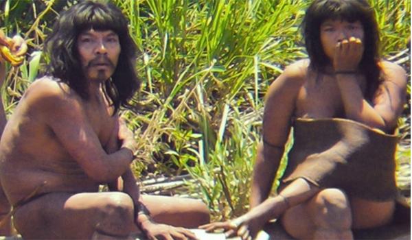 פרו: בני שבט מבודד הגיחו מהג'ונגל ודרשו בננות ומצ'טות