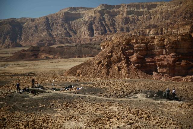 הוכח: מכרות הנחושת בתמנע – מימי המלך שלמה