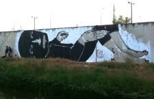 אמן הרחוב שמצייר על הפינות החשוכות של תל אביב/ גיתית גינת