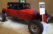 אב טיפוס של רכב ראלי ישראלי הוצג בתערוכת אוטודסק