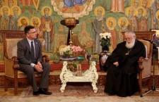 הפטריאך הגיאורגי לגדעון סער: ״ברכה מיהודי היא כמו ברכה מאלוהים