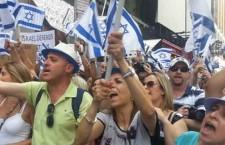 הפגנות בעד ישראל התקיימו בניו-יורק ובלונדון/ צביקה קליין ויצחק הילדסהימר